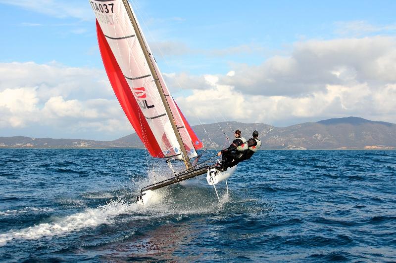 Il catamarano Nacra17