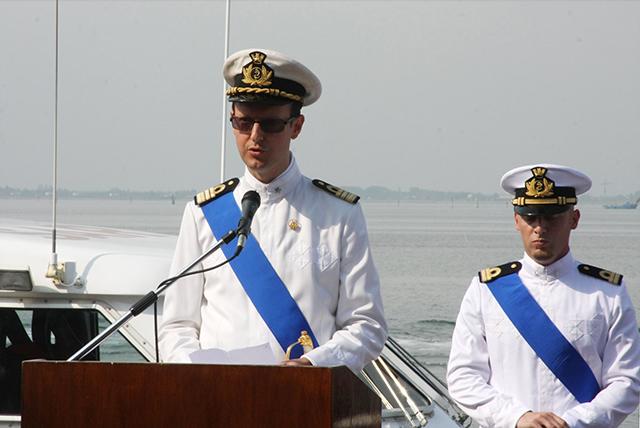 Il Comandante di Compamare Chioggia  CF (CP) Alberto Vicini