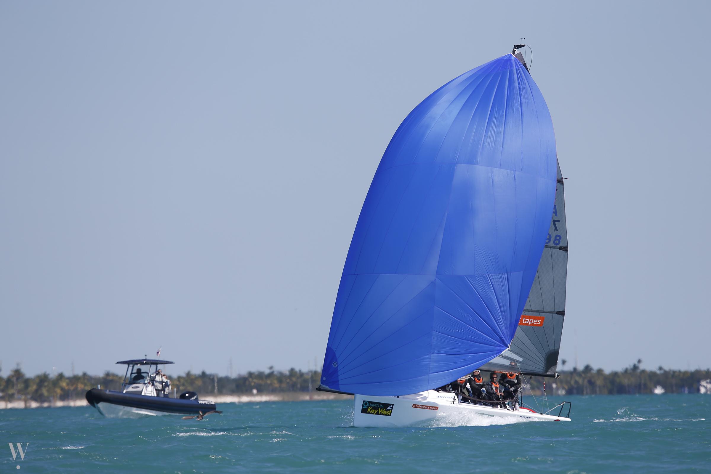 Little Wing in regata a Key West