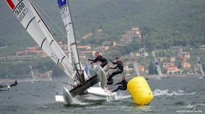 vittorio bissaro silvia sicouri olympic saili week malcesine lago garda vela veneta velaveneta