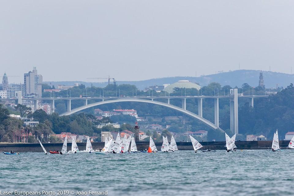 Concluso L'Europeo Laser Senior In Portogallo